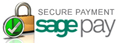 100% Secure Payment from Sagepay